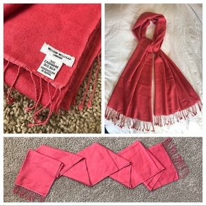 Accessories - William Welstead London Cashmere Hermès Scarf Pink